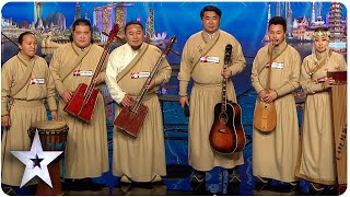 Khusugtun Takes Listeners To Mongolia | Asia's Got Talent 2015 Ep 2