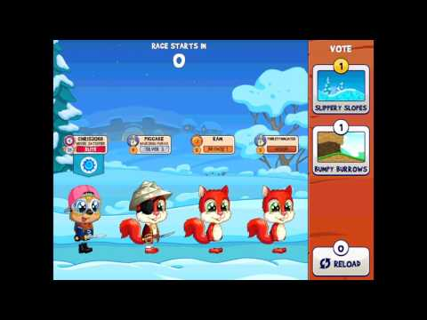 """HOW TO WIN EVERYTIME ON """"SLIPPERY SLOPES!"""" - Fun Run Arena"""