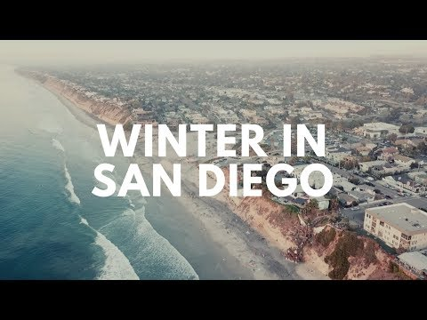 January Winter in San Diego