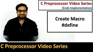 كيفية إنشاء ماكرو #تعريف ما قبل المعالج في البرمجة c   من قبل سانجاي غوبتا