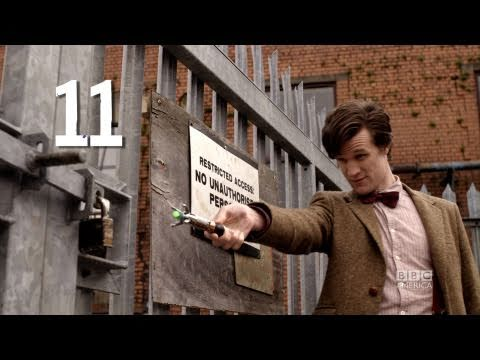 11th Doctor Holding The Sonic Screwdriver