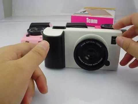 Icam Camera Designed Iphone 4s Cover Case Pack Youtube