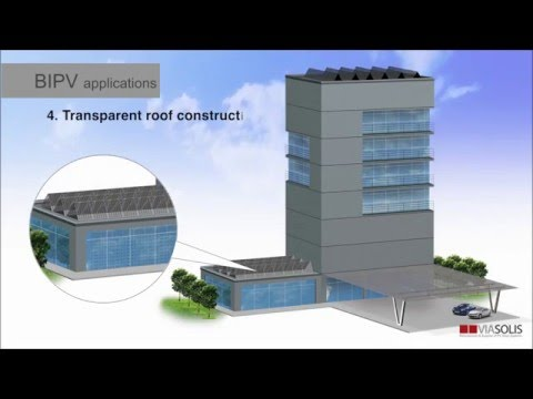 Building-integrated photovoltaics (BIPV) applications