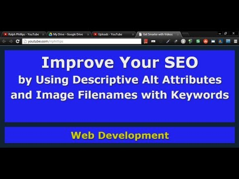 Improve SEO by Using Descriptive Alt Attributes and Image Filenames with Keywords