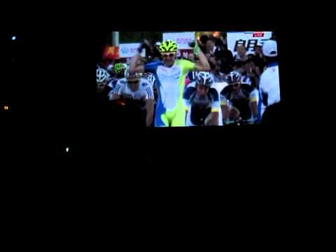 2013 Cannondale Pro Team presentation at Paramount Studio