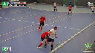 WHV Oberliga West Gruppe A Herren Hallenhockey DHC 3 vs. DSD 2 01.12.2019 Live