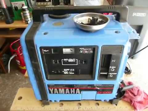 hqdefault yamaha ef1000 generator carburetor location and cleaning part1 Yamaha EF2400iS Craigslist at alyssarenee.co