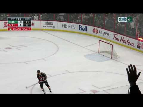 Hudler scores own goal with drop pass on delayed penalty