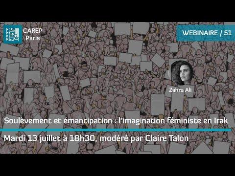 Webinaire 51 / Soulèvement et émancipation : l'imagination féministe en Irak
