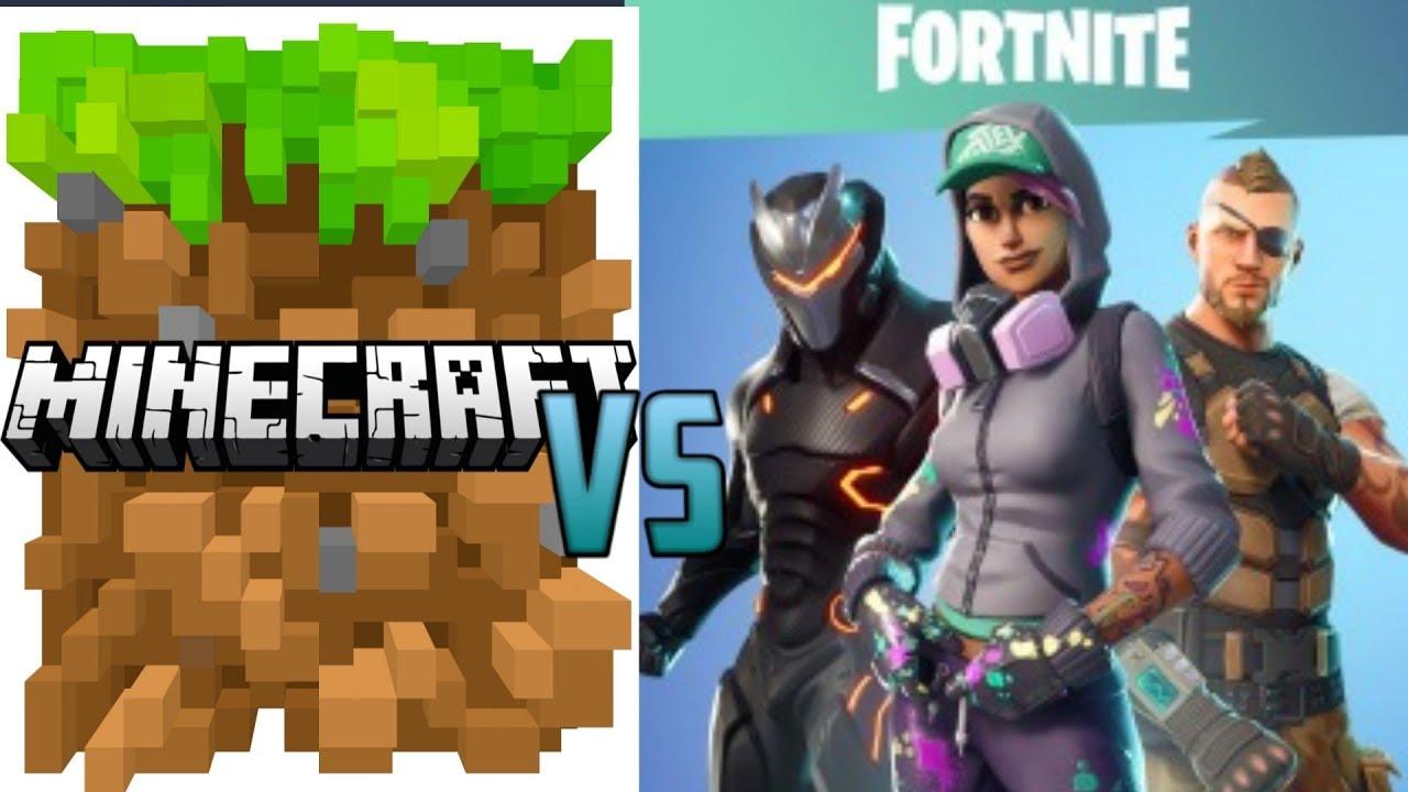 Rap De Fortnite V S Rap De Minecraft Youtube