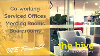 The Hive Business Space virtual tour 2019