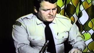 RCMP Officer Interview  UFO Sighting 1978