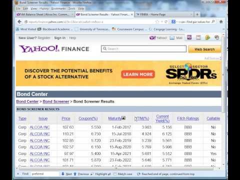Market Value Capital Structure