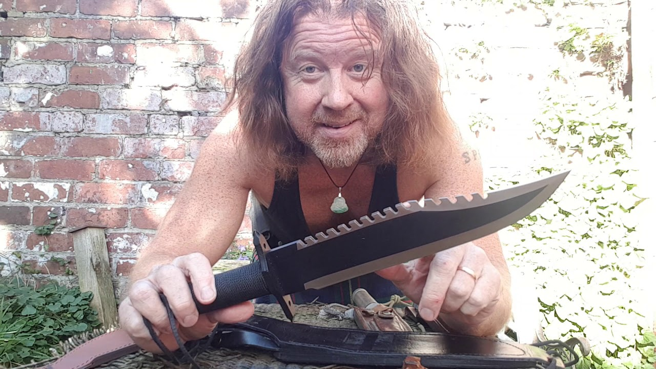 Download Rambo Knives Review - Kilt-Man discusses the iconic blades from the classic Stallone movies!!!