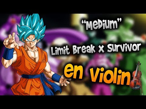 Dbz super op 2 - Limit Break x Survivor en Violín|How to Play,Tutorial,Tab,sheet music,Como Tocar|