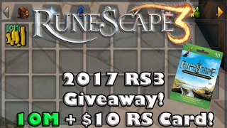 RS3 Giveaway 2017 - Race to 100 Subs!(ended)