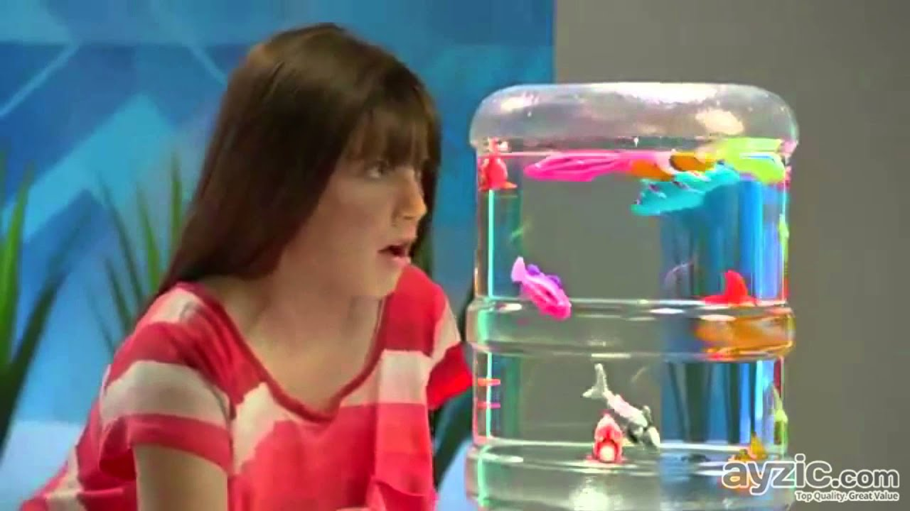 Robo fish water activated robotic fish toy youtube for Robo fish toy