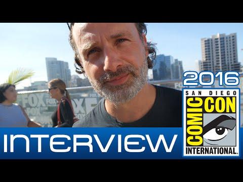The Walking Dead: Andrew Lincoln (Rick Grimes) talks Season 7 | Comic-Con 2016