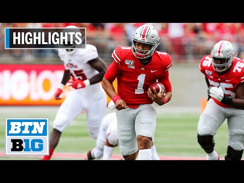 highlights:-fields-impressive-in-buckeye-debut-|-florida-atlantic-at-ohio-state-|-august-31,-2019