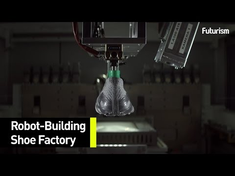 antártico Multiplicación Centelleo  Adidas Has Just Unveiled Their First Pair Of Robot-Built Shoes - YouTube