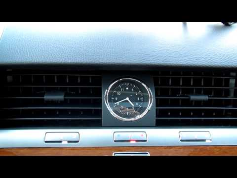 VW Phaeton - panels over a/c-ducts