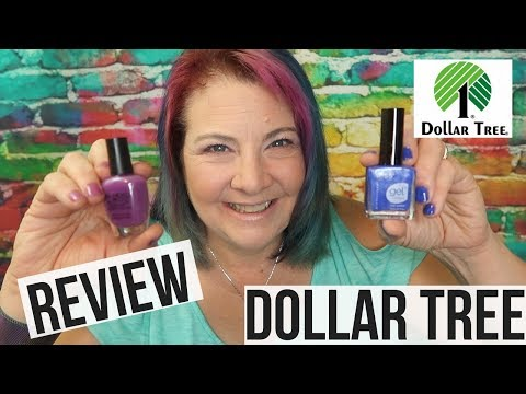 Dollar Tree Nail Polish Review ! Glow In the Dark and Gel Strong !