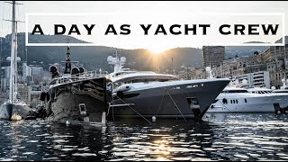 What A Day At Work Looks Like | Yacht Arience