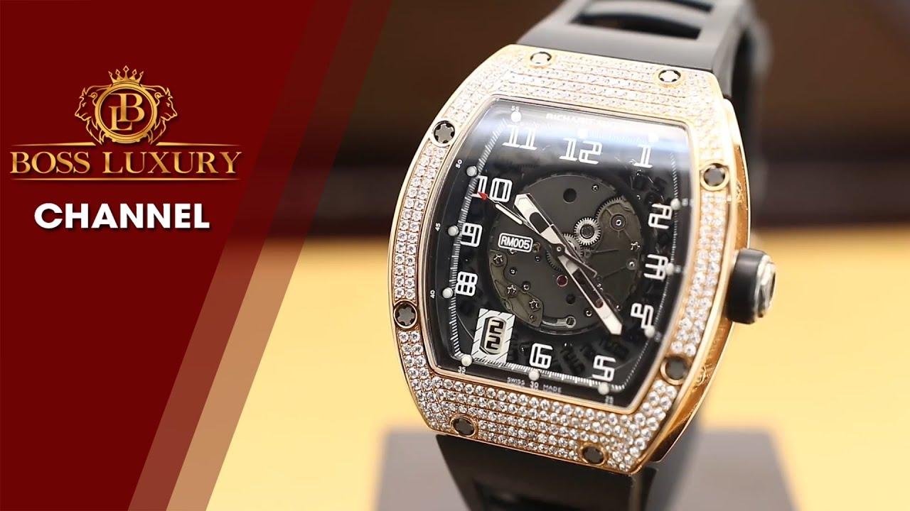 Review đồng hồ Richard Mille RM-005 - chiếc Richard Mille đầu tiên có tính năng Automatic