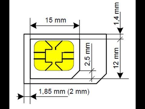 Como Cortar Um Micro Sim E Transforma Lo Em Nano Sim Na