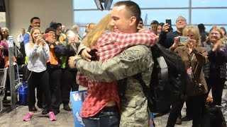 soldiers coming home surprise compilation 4