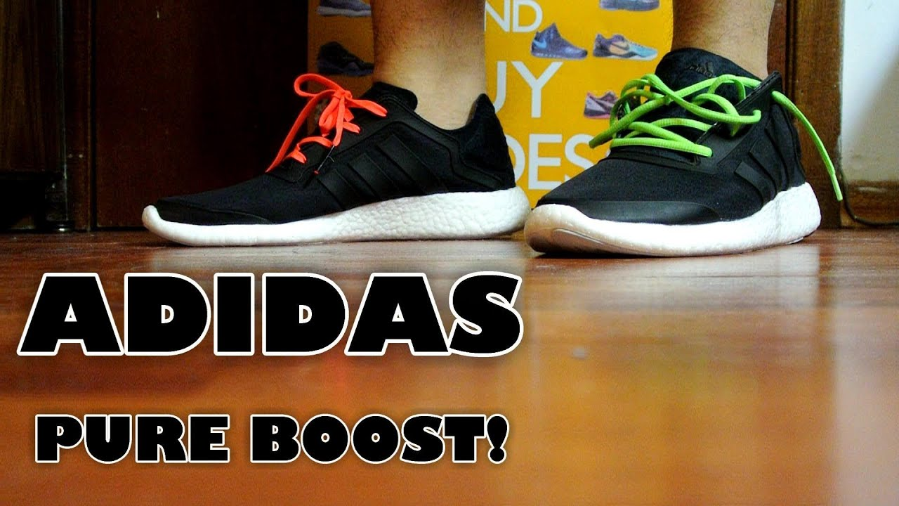 adidas pure boost review on feet youtube. Black Bedroom Furniture Sets. Home Design Ideas