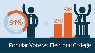 The Popular Vote vs. the Electoral College