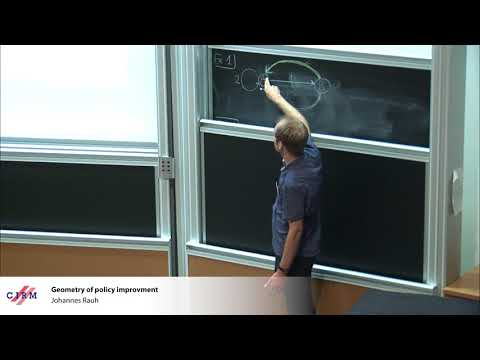 Johannes Rauh : Geometry of policy improvment