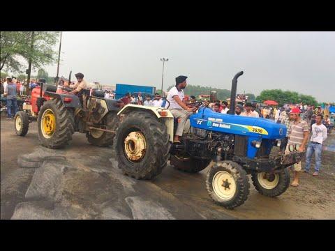 7172 New Holland vs Swaraj Tractor Tochan