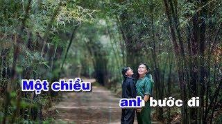 Lời Người Ra Đi Karaoke Một chiều - sáng tác Trần Hoàn