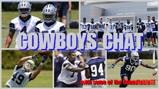COWBOYS CHAT: YouTubers Discuss Zeke, Dak, Tyron Smith, Randy Gregory, WRs, TEs, DBs, Coaches & More