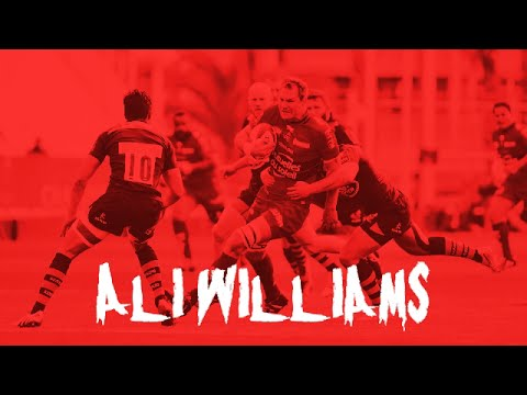 Ali Williams Tribute Toulon