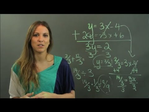 How To Solve Linear Equations By Elimination Method Linear Alge Education
