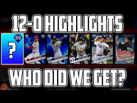 12-0 Battle Royale Highlights! MLB The Show 17 12 Win Battle Royale