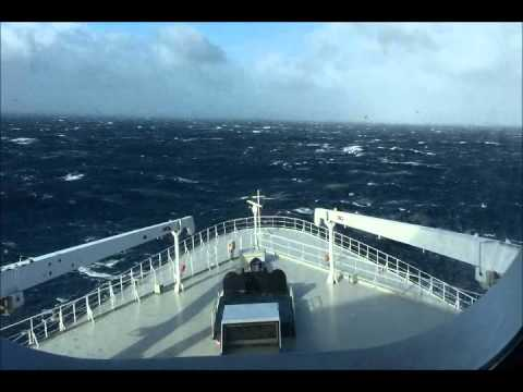 Transatlantic crossing of the Queen Mary 2, 22 - 29 October 2015.