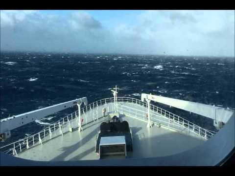 Transatlantic Crossing Of The Queen Mary 2, 22 - 29 October 2015.