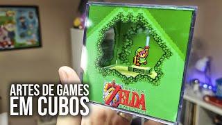 Cubos 3D / Dioramas Incríveis! #BRKsEDU