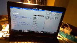 Lenovo Thinkpad 13 : Access BIOS and Boot Settings : Acronis