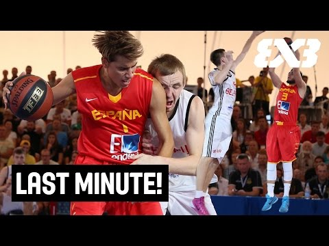 Last Minute! - Spain wins the Bronze Medal with an IMPOSSIBLE shot - FIBA 3x3