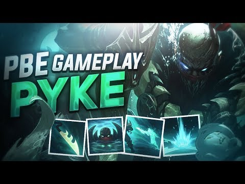 PYKE GAMEPLAY FR PBE - New Champion League Of Legends