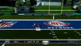 Madden NFL 07 Xbox 360 Gameplay - QB Challenge (360 build)