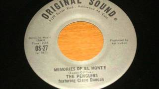 Beautiful Doo Wop written by Frank Zappa! Penguins - Memories of El Monte