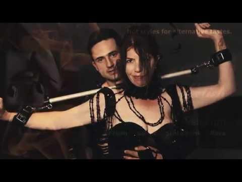 Madamé Kali Dreadful: Black Space Latex Dress / Rubber / Goddes / Fetisch / Alternative Fashion from YouTube · Duration:  36 seconds