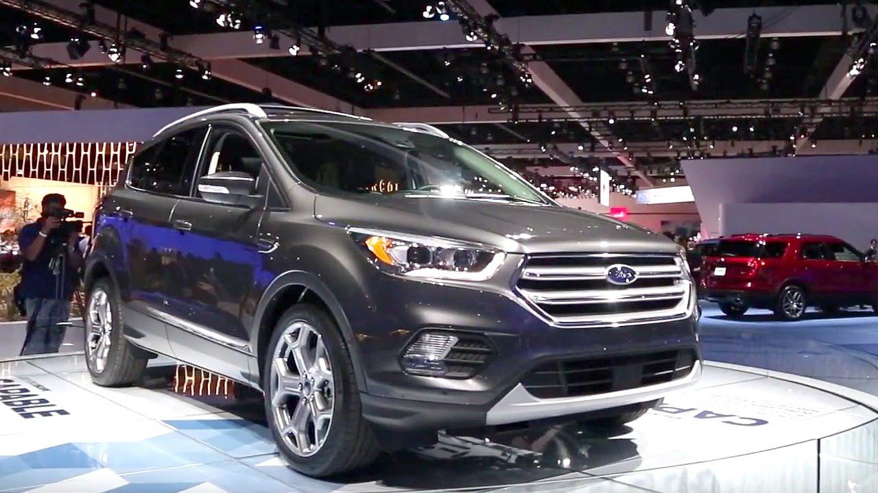 2017 Ford Escape - 2015 LA Auto Show - YouTube