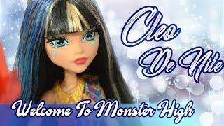 Cleo De Nile - Welcome to Monster High \ Обзор Клео Де Нил - Добро пожаловать в школу монстров.